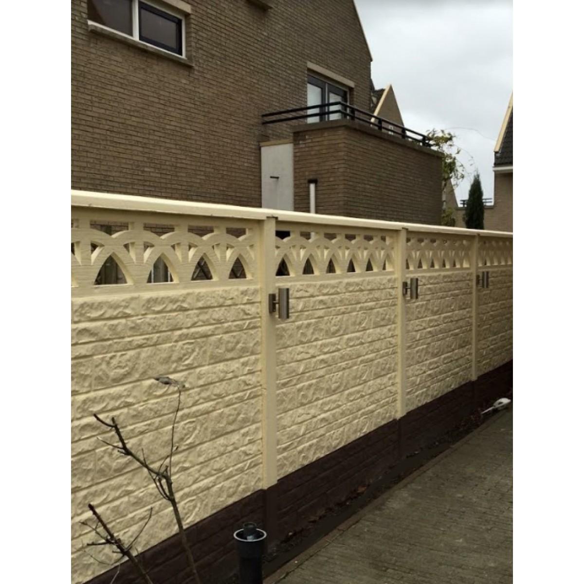 Schuttingen beton bij Schutting33.nl